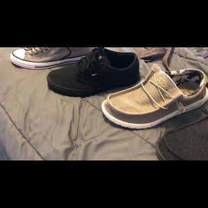 Vans monochrome black Size 10.5